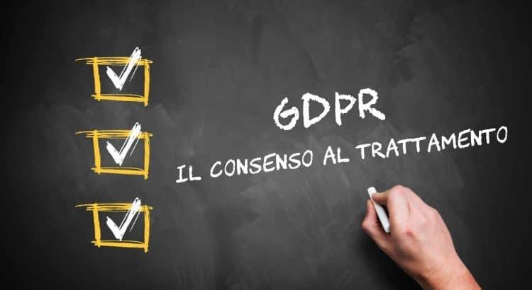 The Privacy Consent GDPR 679/16 and Legislative Decree 101/18