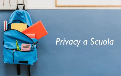Privacy & Scuola: Didattica a Distanza, Smart Working e Covid-19