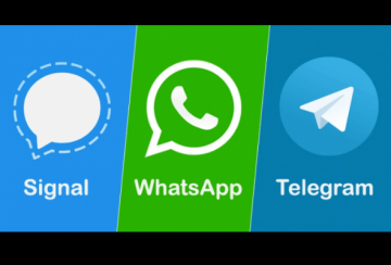 Signal-WhatsApp-Telegram