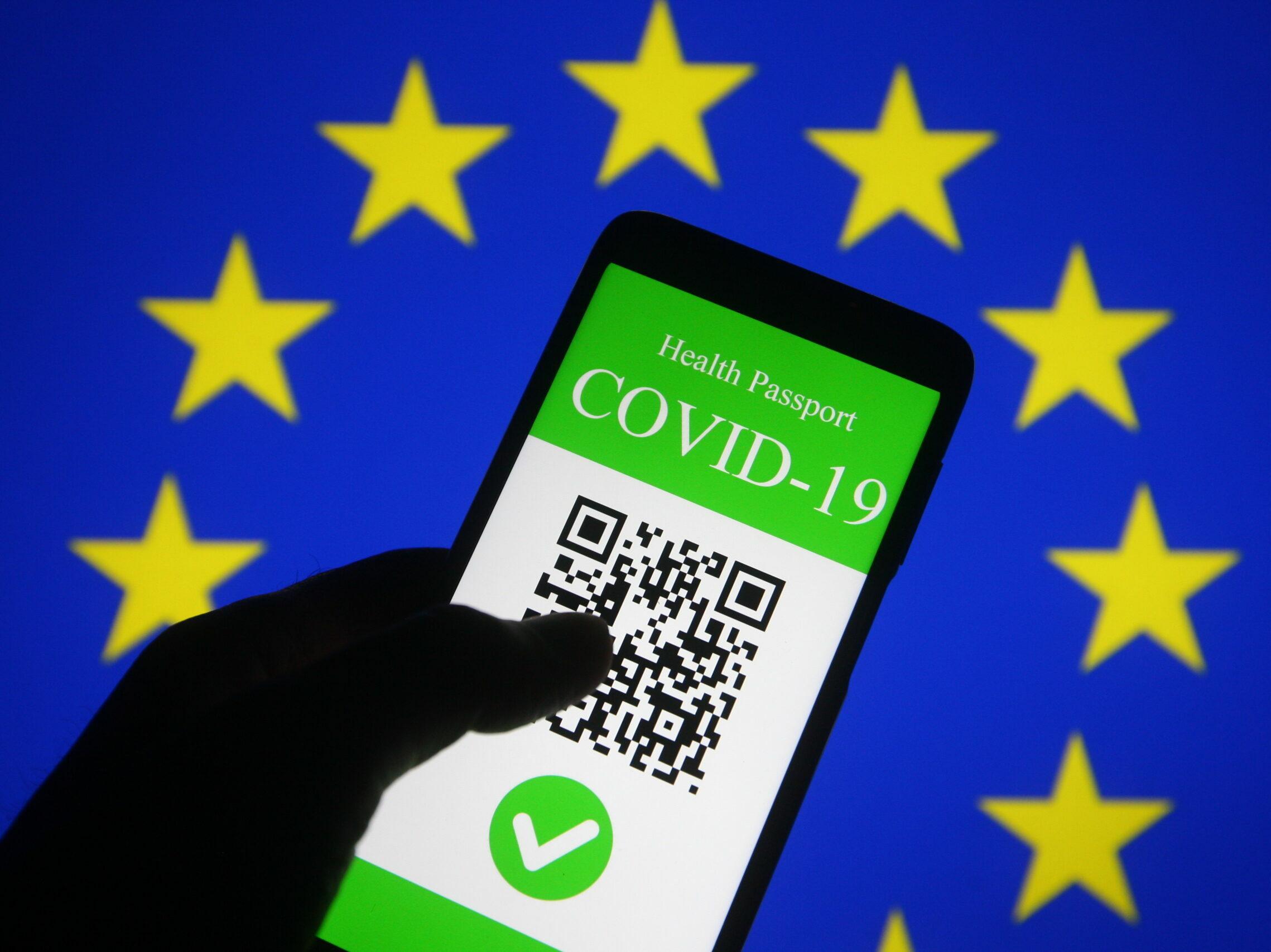 Green Pass: Il pass verde nazionale in vigore dalla seconda metà di maggio  - PrivacyControl